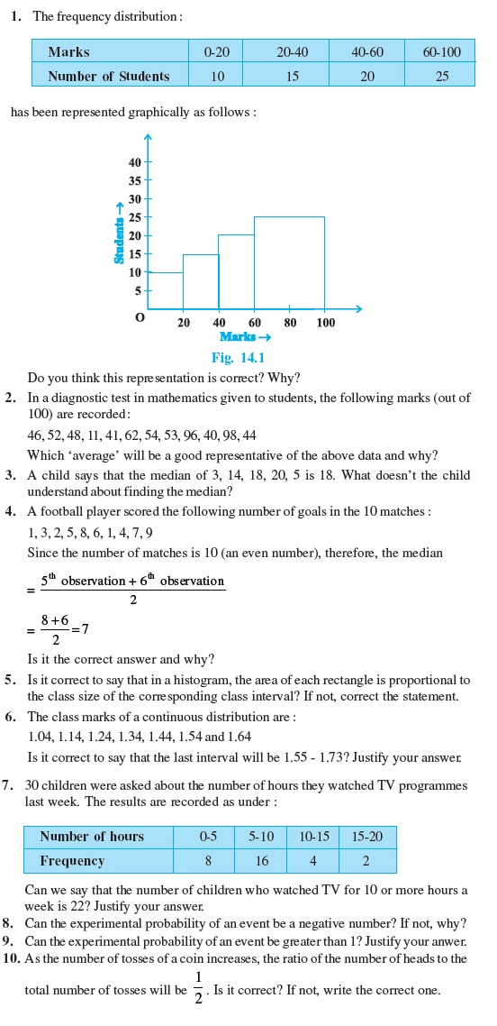 Class 9 Important Questions for Maths - Statistics and Probability