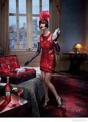Коктейльная мифология: Ева Грин для календаря Campari 2015