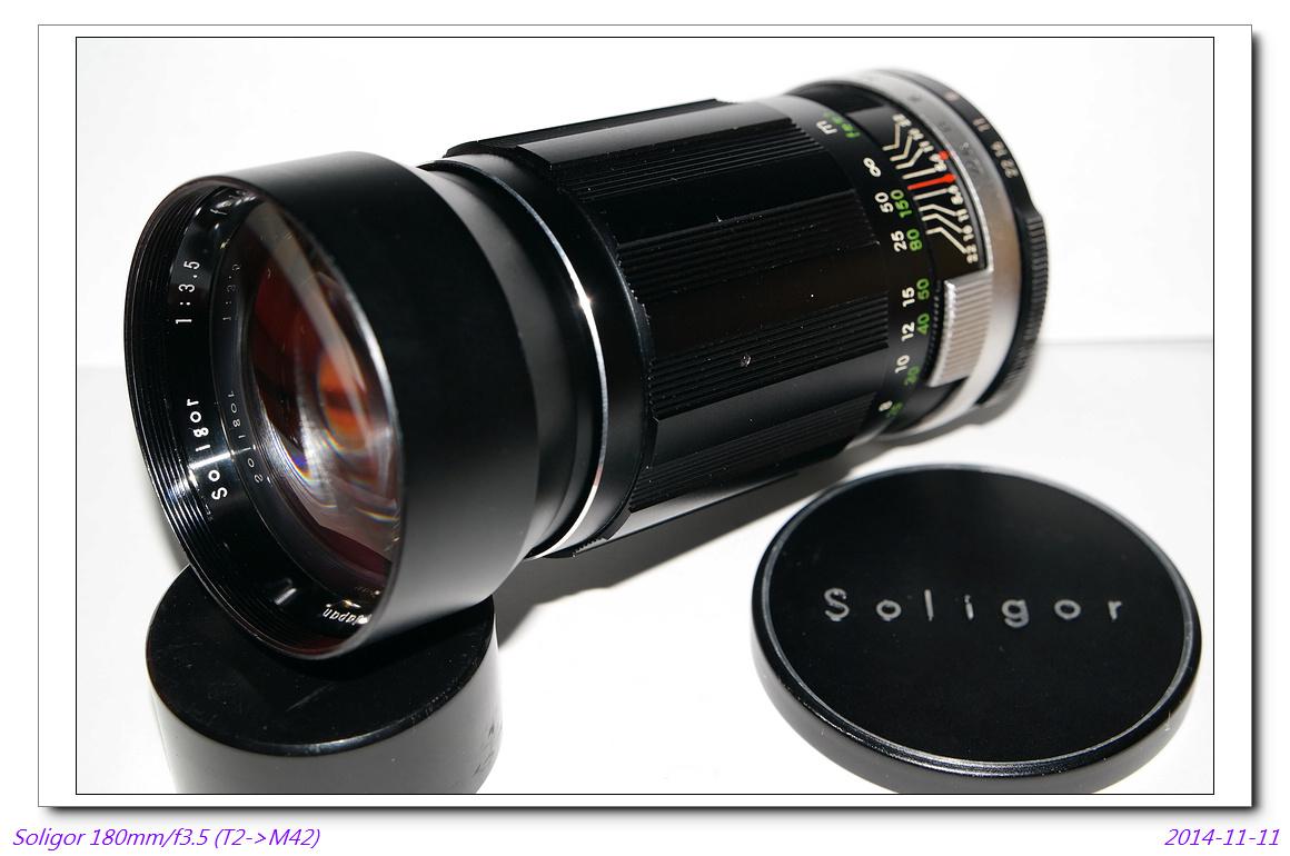 Soligor 180mm/f3.5 (T->42)~