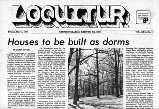 Loquitur: Houses to be built as dorms