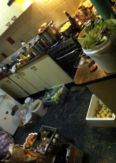 Occ Chez Hag: Kitchen