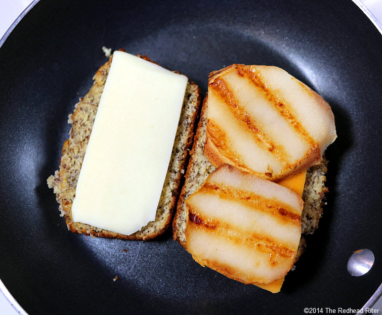 09 Grain Free Grilled Cheese Pear Sandwich recipe