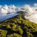 合歡主峰 走在雲上