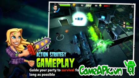 Rooster Teeth vs. Zombiens v1.0.2 hack full tiền cho Android