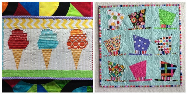Little Quilt, Sew, Vote, Swap Nov 2014