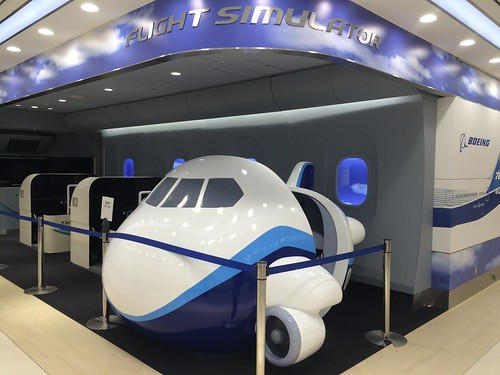 Flight Simulator, Haneda Airport International Terminal