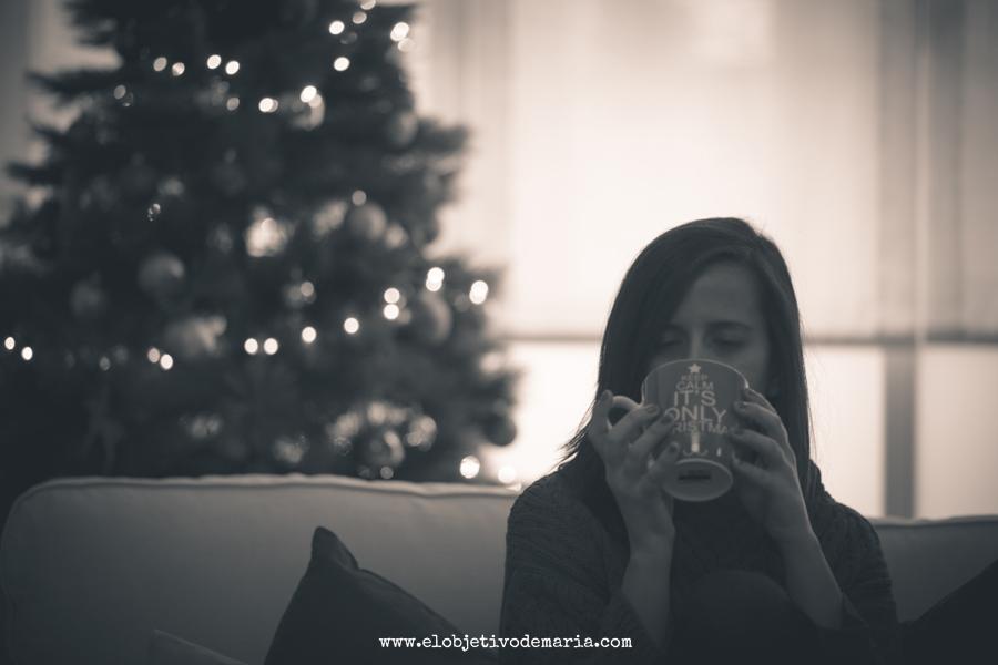 un té en Navidad