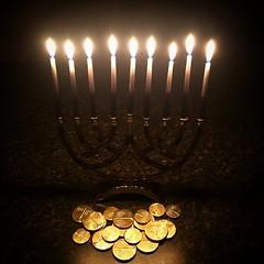 light fixture(0.0), menorah(0.0), chandelier(0.0), light(1.0), hanukkah(1.0), circle(1.0), darkness(1.0), lighting(1.0),
