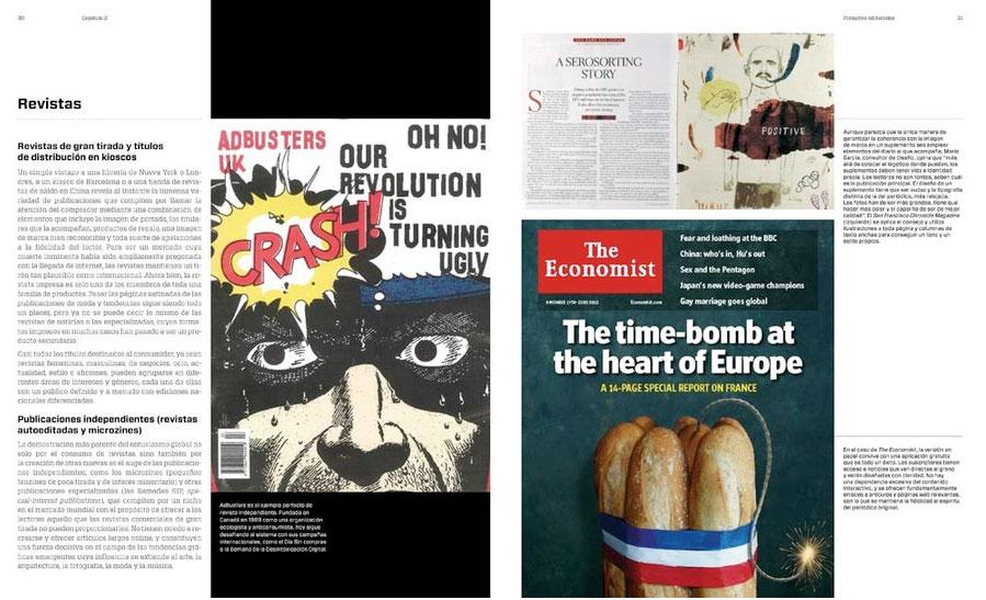 diseño editorial. periódicos y revistas / medios impresos y