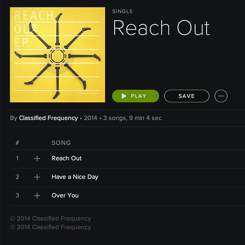 Reach Out /// Out Now
