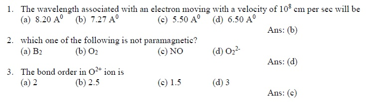 GSAT 2015 Sample Questions