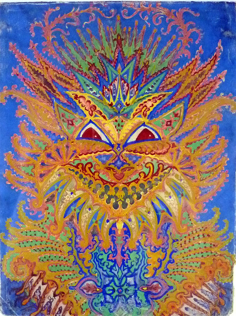022-Louis Wain- via plant-alchemy