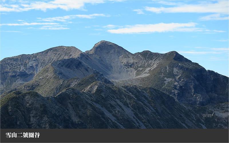 雪山二號圈谷