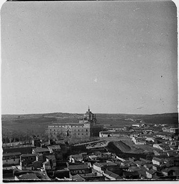 Hospital Tavera en 1900. Fotografía de Augusto T. Arcimis © Fototeca del IPCE, MECD. Signatura ARC-0712_P