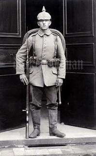 Infanterist Wilhelm Herold, 2. Kompagnie 5. Infanterie Regiment, 4. Bayer. Infanterie Division