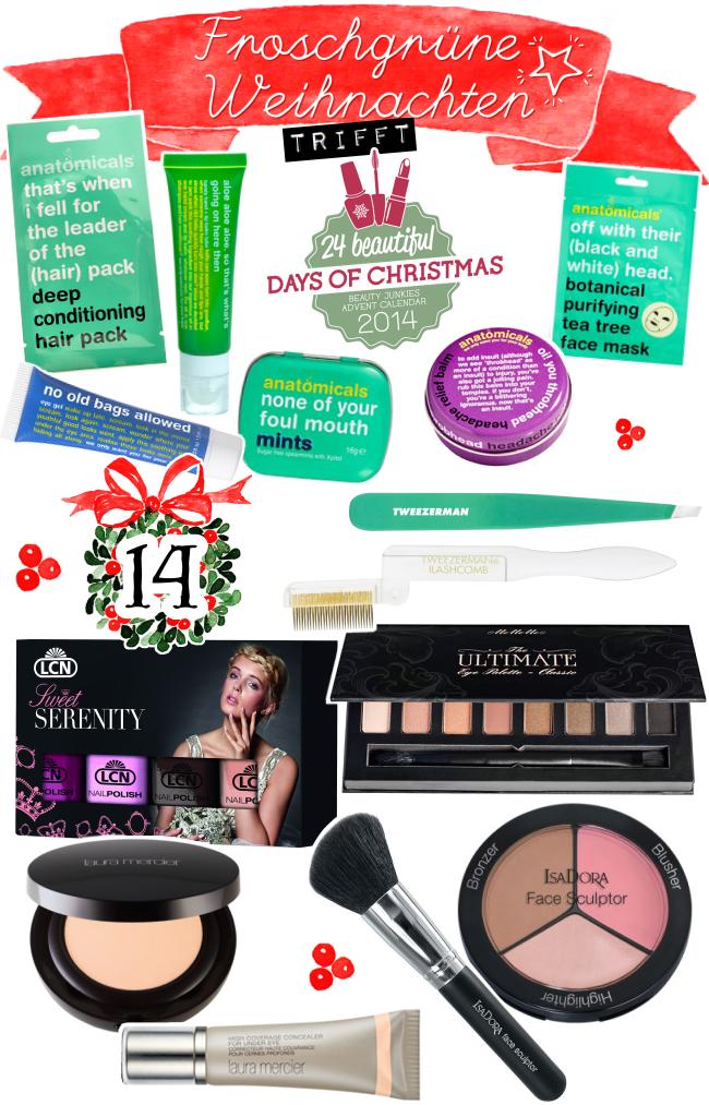 Froschgrüne Weihnachten, Blogger-Adventskalender, Türchen 14