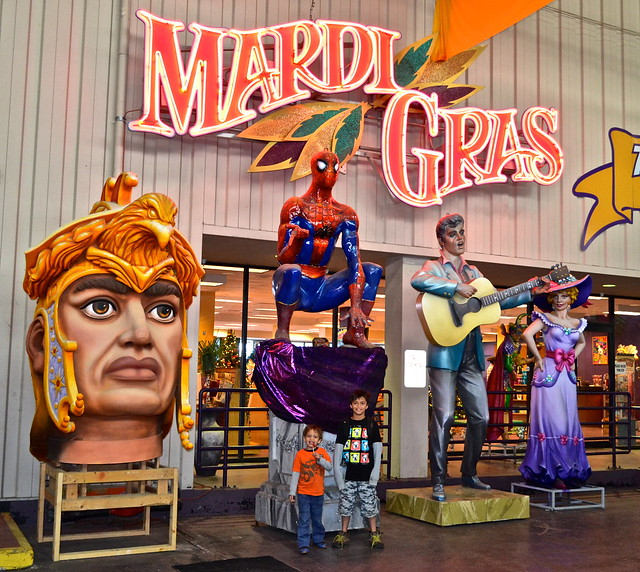 Mardi Gras World New Orleans - entrance