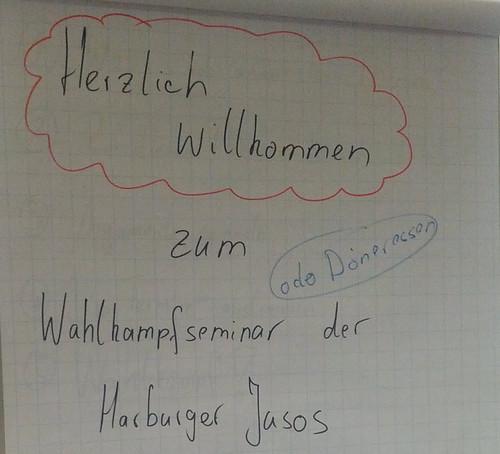 Wahlkampfseminar der Harburger Jusos