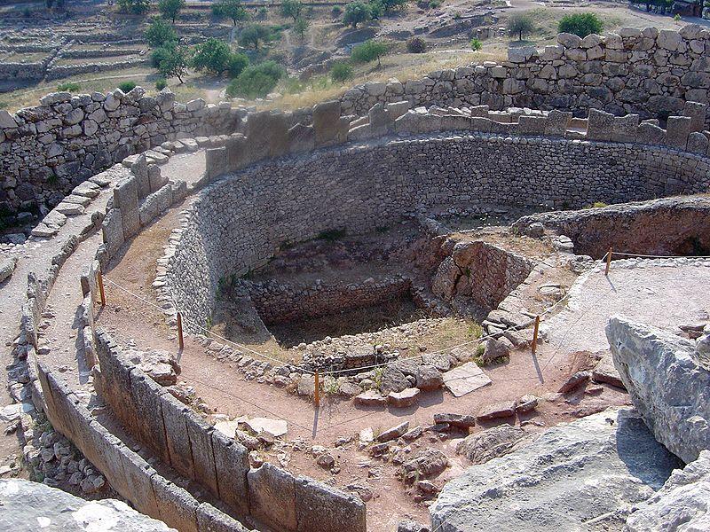 Ruins in Mycenae