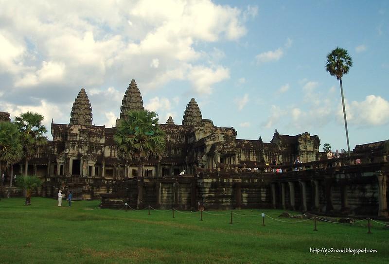 Ангкор Ват в Камбодже