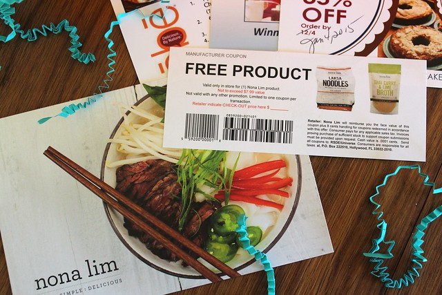 Example of Free Coupon in a Send Me Gluten Free Box