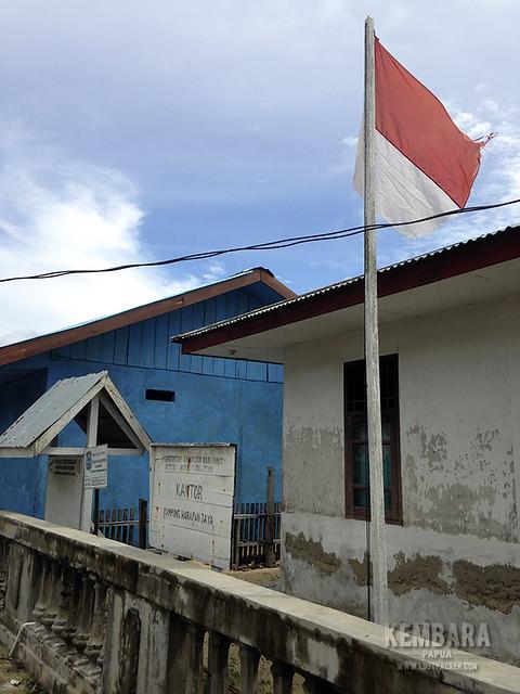 Sang Saka di Desa Harapan Jaya, Misool - Raja Ampat
