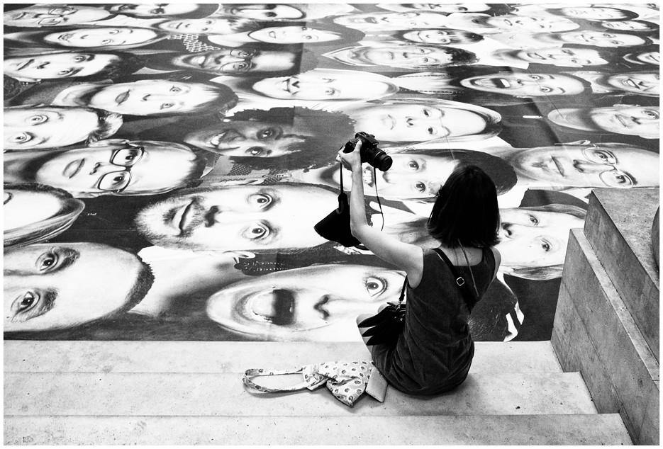 Contre-Selfie, Paris, 2014.