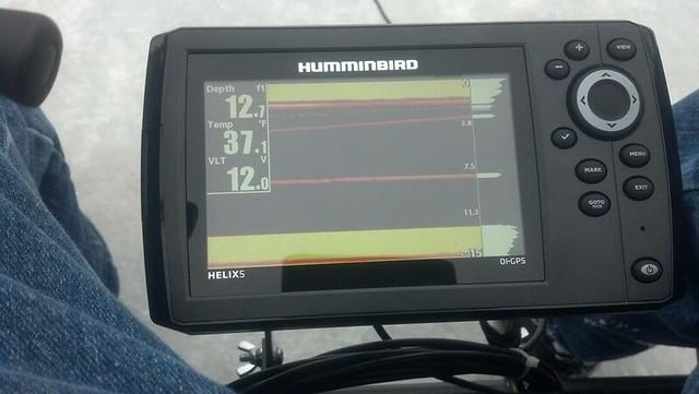 Humminbird helix 5 ice ice fishing forum in depth outdoors for Humminbird helix 5 ice fishing