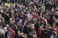 Rassemblement d'hommage aux victimes des attentats terroristes