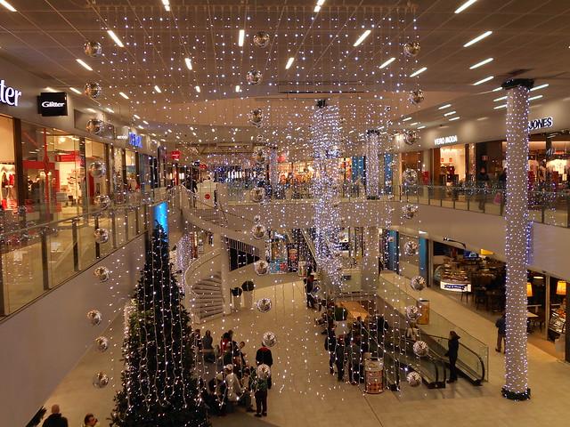 Jouluvalot Hämeenlinnan Goodmanissa 23.12.2014