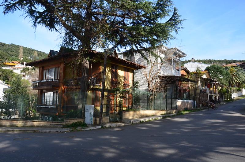 Holzhaus auf Büyükada