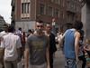 Gaza war protestors. Brussels, July 2014.