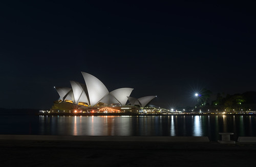 Sydney Opera House from the bay