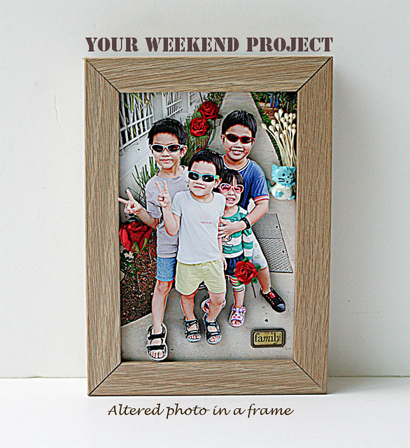 Weekend-project-altered-photo-in-frame