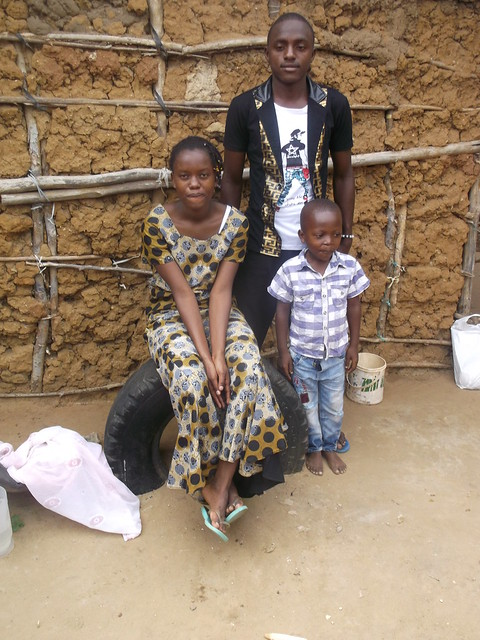 Mwaka arrives at the family home