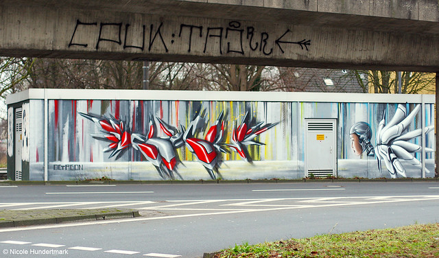 Streetart in Köln-Ehrenfeld