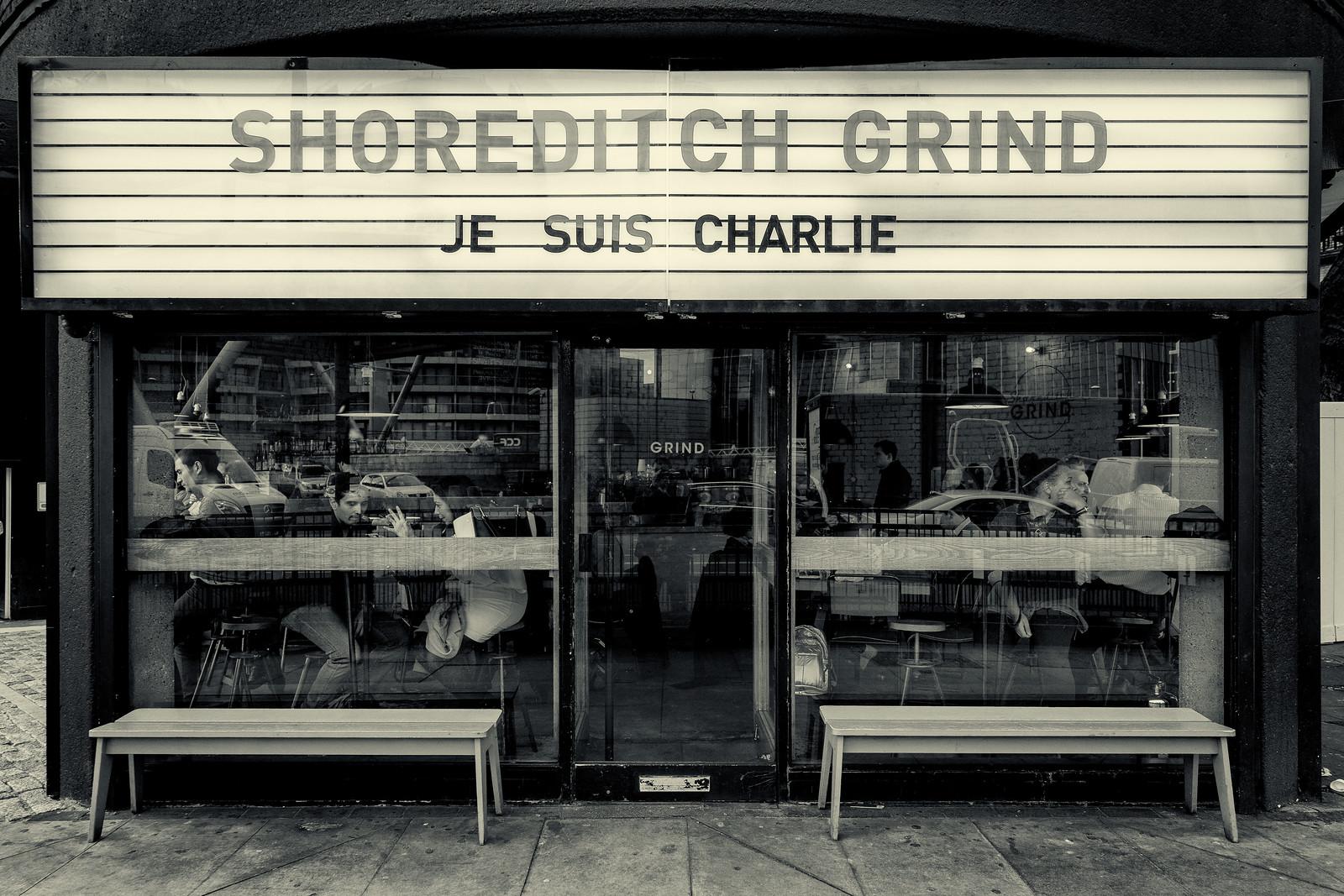 Je suis Shoreditch Charlie