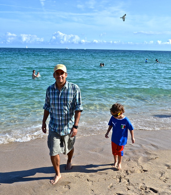 Hilton Fort Lauderdale Beach Resort - family beach time