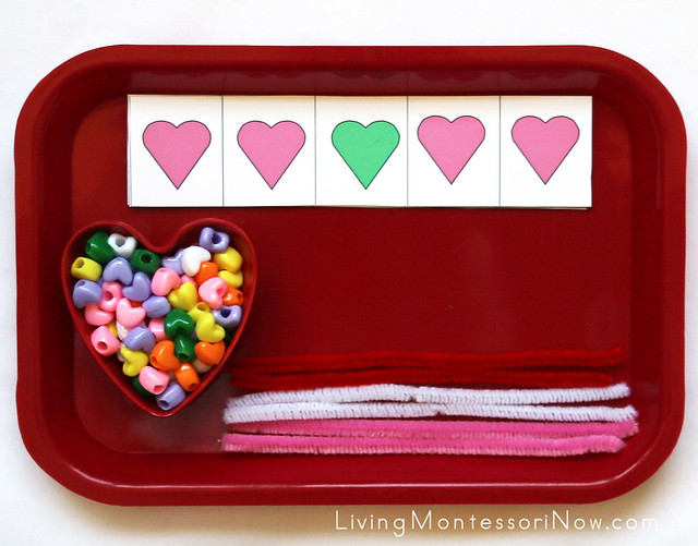 Heart Patterning Tray