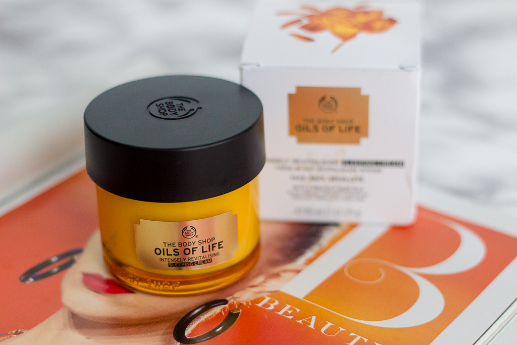 The Body Shop Oils of Life Intensely Revitalising Sleeping Cream