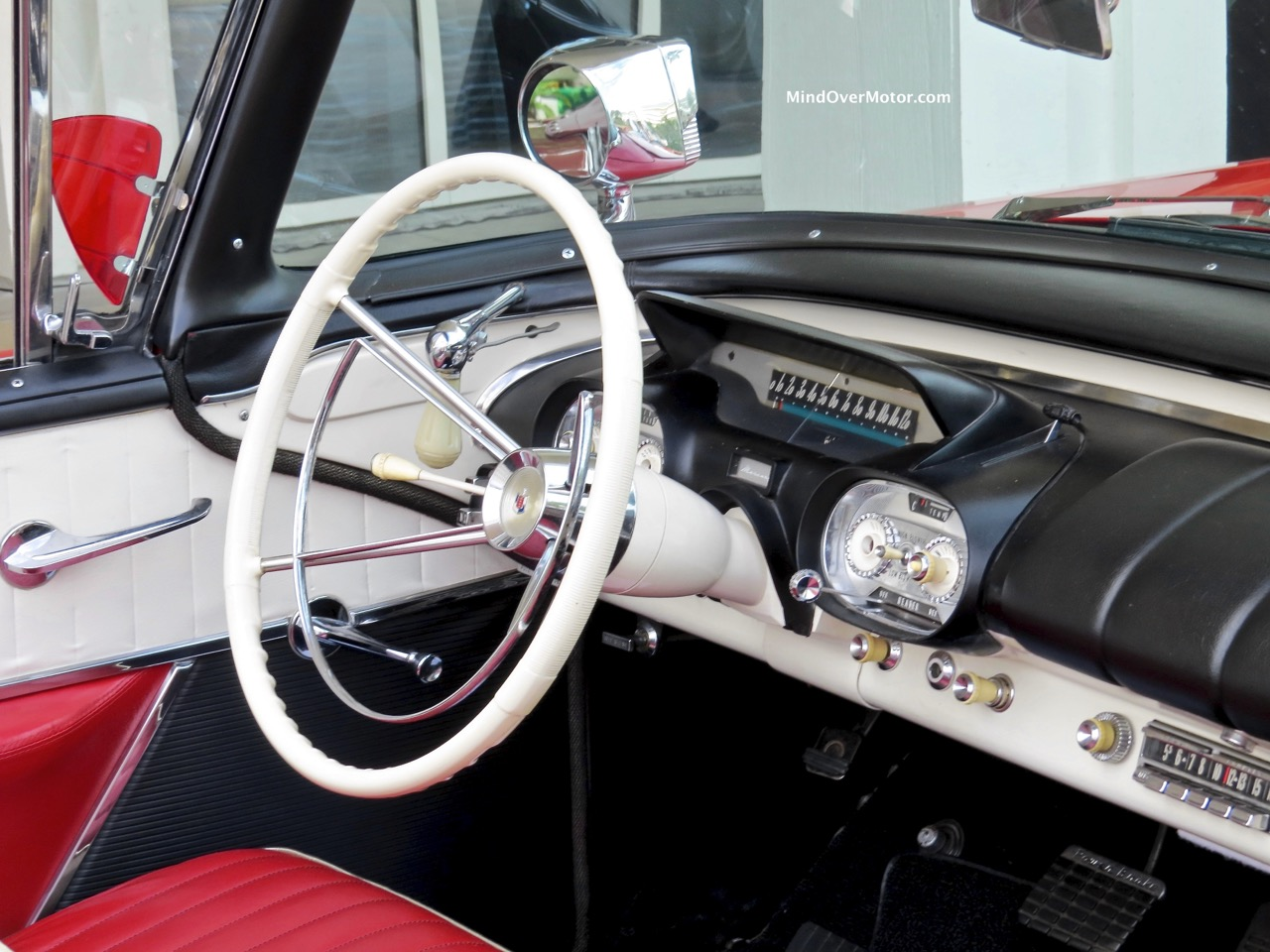 1957 Mercury Turnpike Cruiser Interior
