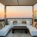Relax coner on condominium roof top garden-bútorlapok