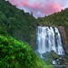 Sunset at Marakopa Falls by David Swindler (ActionPhotoTours.com)