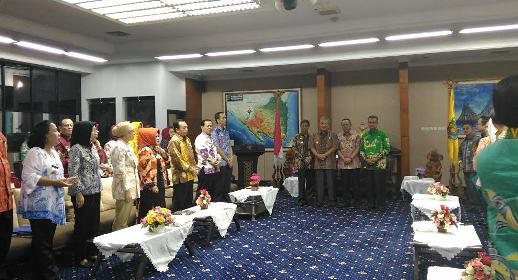 Acara Pengakhiran Jabatan Sekprov (Imelda, 30 Juni)
