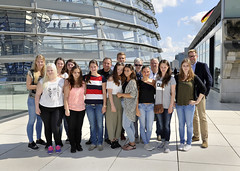 Schülerinnen und Schüler des Berufskollegs Barmen zu Besuch in Berlin (27. Juni 2016)