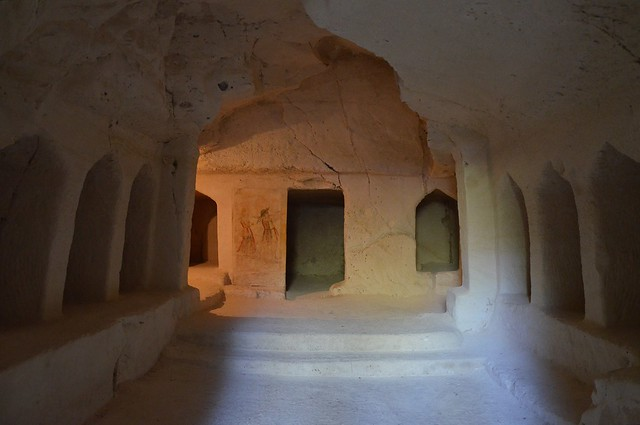 Sidonian burial caves, Beit Guvrin, Israel