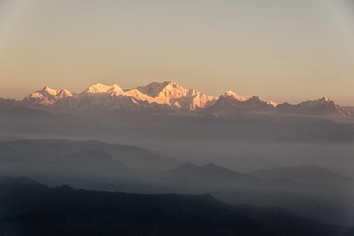 india sunrise westbengal kanchenjunga darjiling