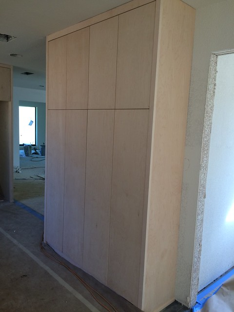 Custom, Modern Kitchen Cabinets