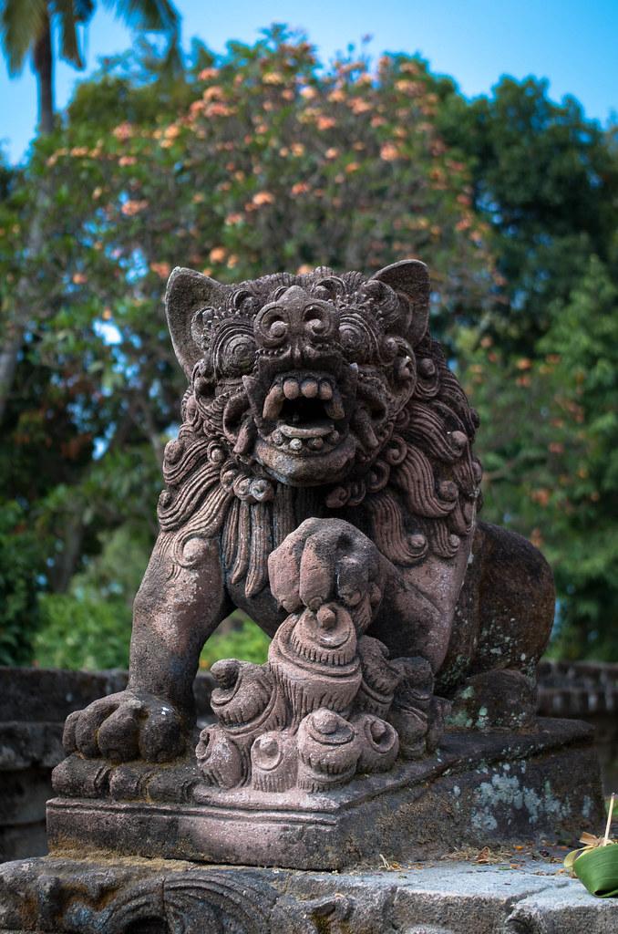 Statue : Tête de Démon