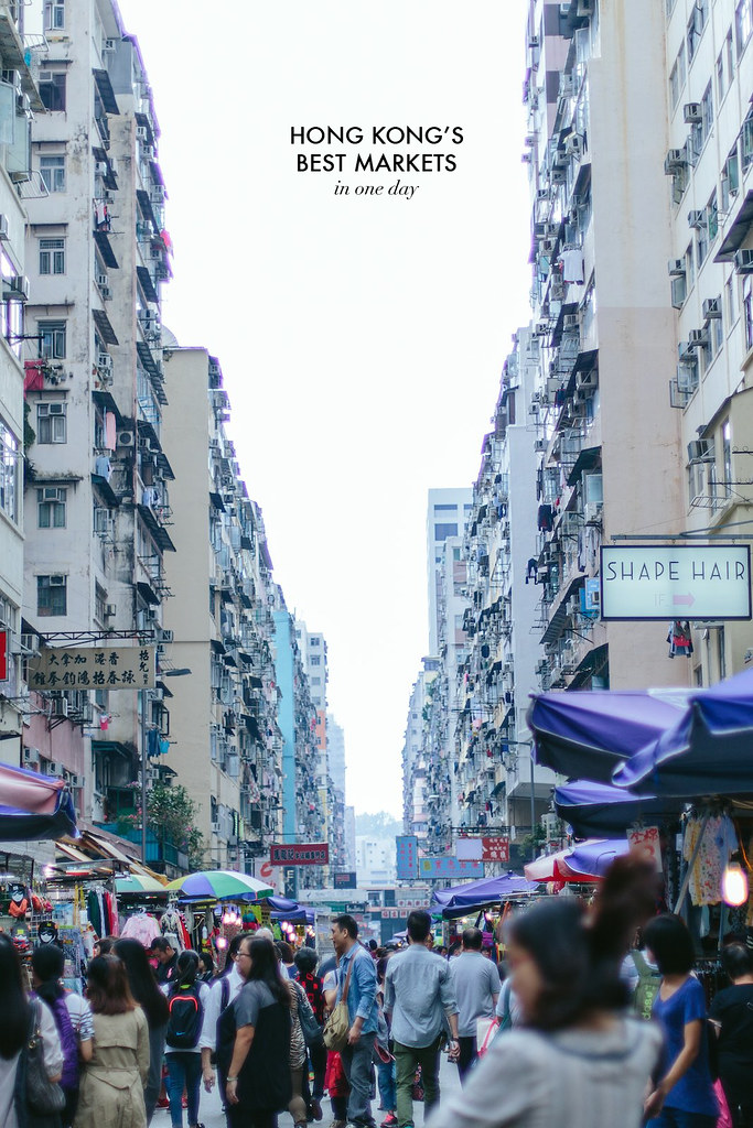 Hong Kong's best markets in one day